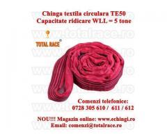 Chinga textila ridicare circulara  5 tone 1 metru