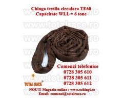 Chinga textila ridicare circulara  6 tone 1 metru