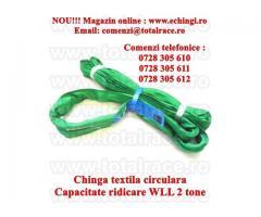 Chinga ridicare circulara 2 tone 5 metri, productie UTX Olanda