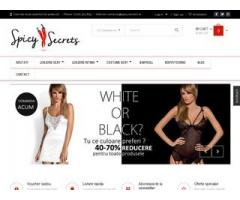 SpicySecrets- lenjerie sexy- seductie si senzualitate