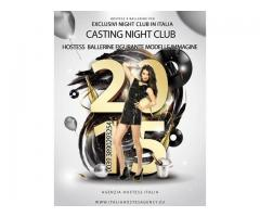 Contracte hostess night club Italia