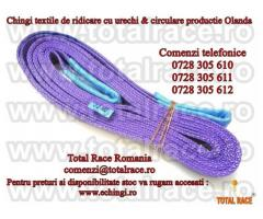 Chingi textile de ridicare pentru macarale turn