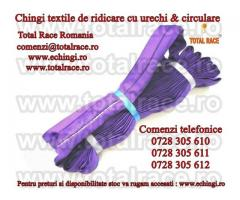 Chingi textile pentru ridicat sarcini