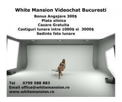 Whitemansion angajeaza  fete pentru postul de  Hostess online