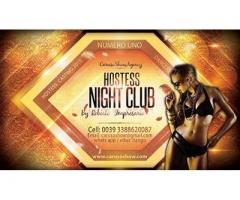 Hostess Modele Cliente False in Night Club Italia