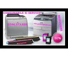 Consumabile si servicii de mentenanta cu reducere de pana la 50% pentru imprimante