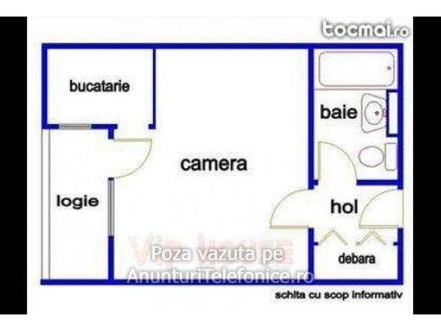Titan 0763158172 Inchiriez garsoniera cf. 1, etj. 4/10 , Bucuresti