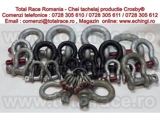 Chei tachelaj , echipamente de ridicat Crosby®  Total Race