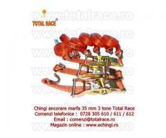 Chingi ancorare cu clichet de 3 tone