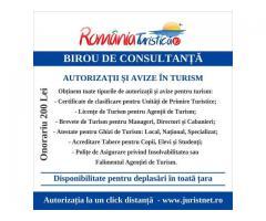 Birou de consultanta si autorizare in turism Master Business