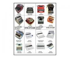 Reparatie masina de scris si consumabile la sediul societatii dvs.