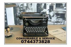 Servisare si Consumabile ptr.masini de scris.