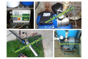Montaj si service hidrofoare Bucuresti-Ilfov