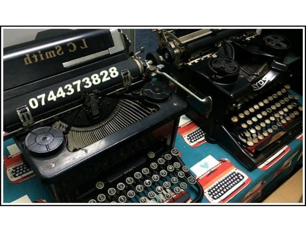 Servisare & Reparatii masini de scris