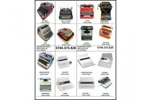 Reglare si consumabile ptr.masini de scris.