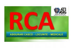 ASIGURARI RCA-MALPRAXIS -LOCUINTE- CASCO