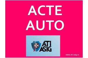CONTRACTE AUTO / FISE DE INMATRICULARE