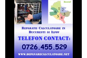 Reparatii Calculatoare in Bucuresti si Ilfov pentru PC uri si Laptopuri