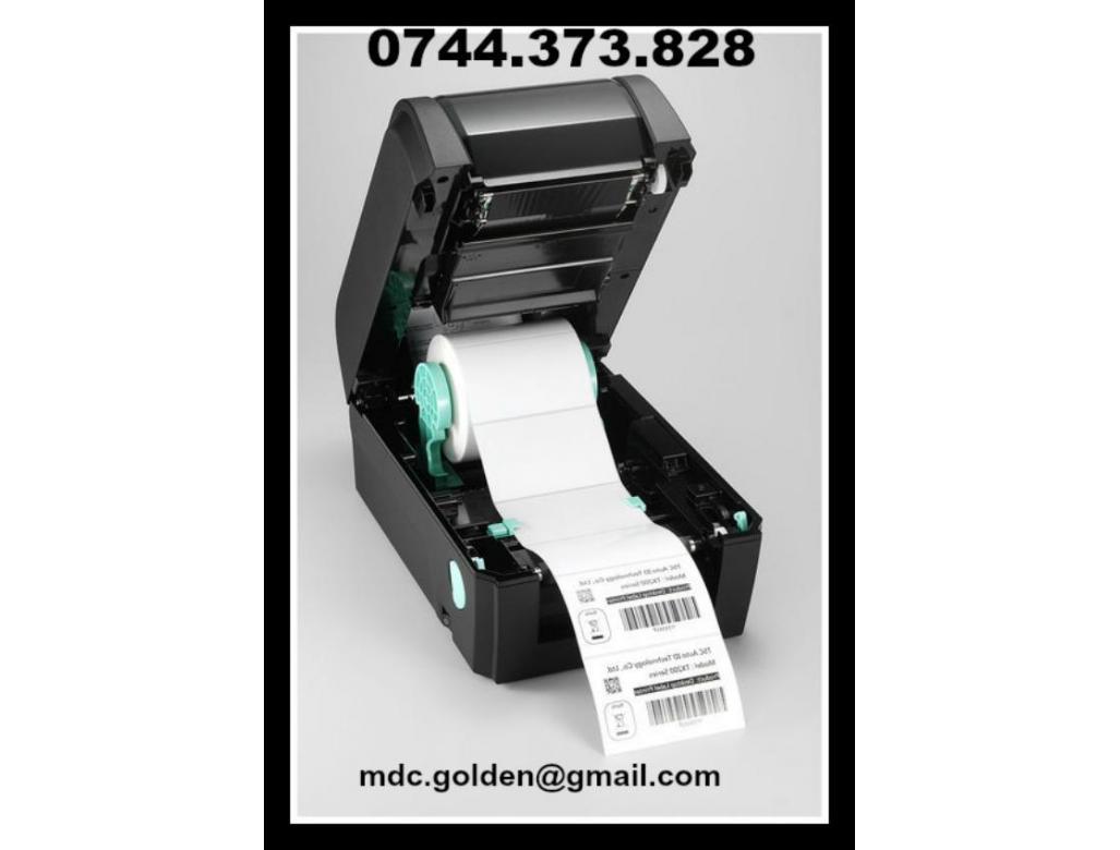 Imprimanta etichete 0744373828 cu latime de pana la 110 mm, GARANTIE 24LUNI.