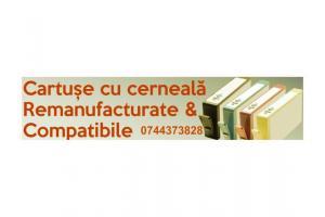 Cartuse cu cerneala compatibile&emanufacturate ptr. imprimante