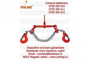 Dispozitiv complet lanturi ancorare 13 mm galvanizat 10 tone