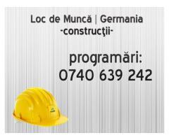 Muncitori in constructii – 1400E,Germania.
