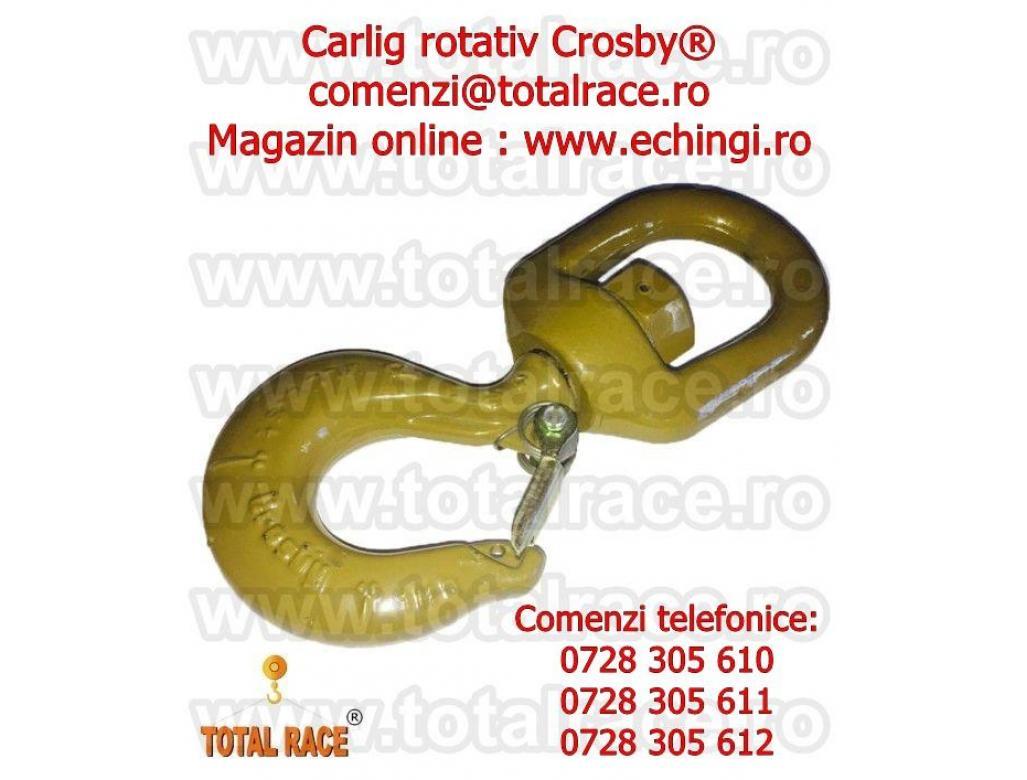 Carlige rotative cu siguranta pentru furci macara Total Race