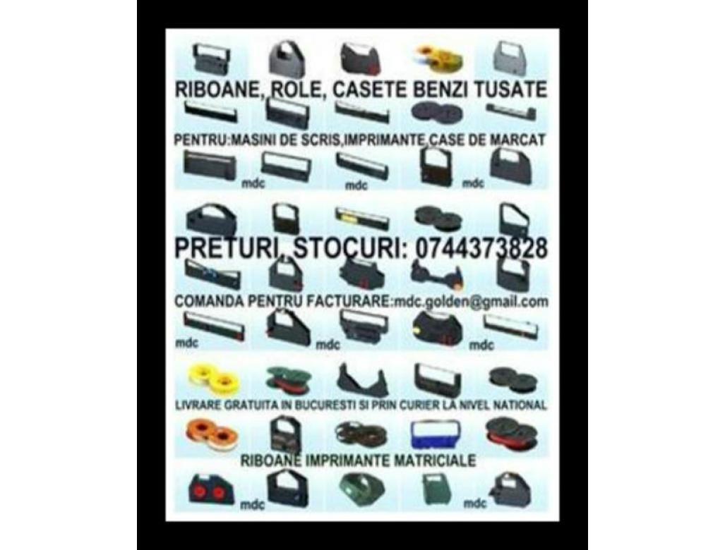 Role&benzi ptr.masini de scris, imprimante matriciale