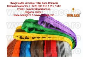 Chingi ridicare, chingi macarale, chingi textile, sufe de ridicat Total Race