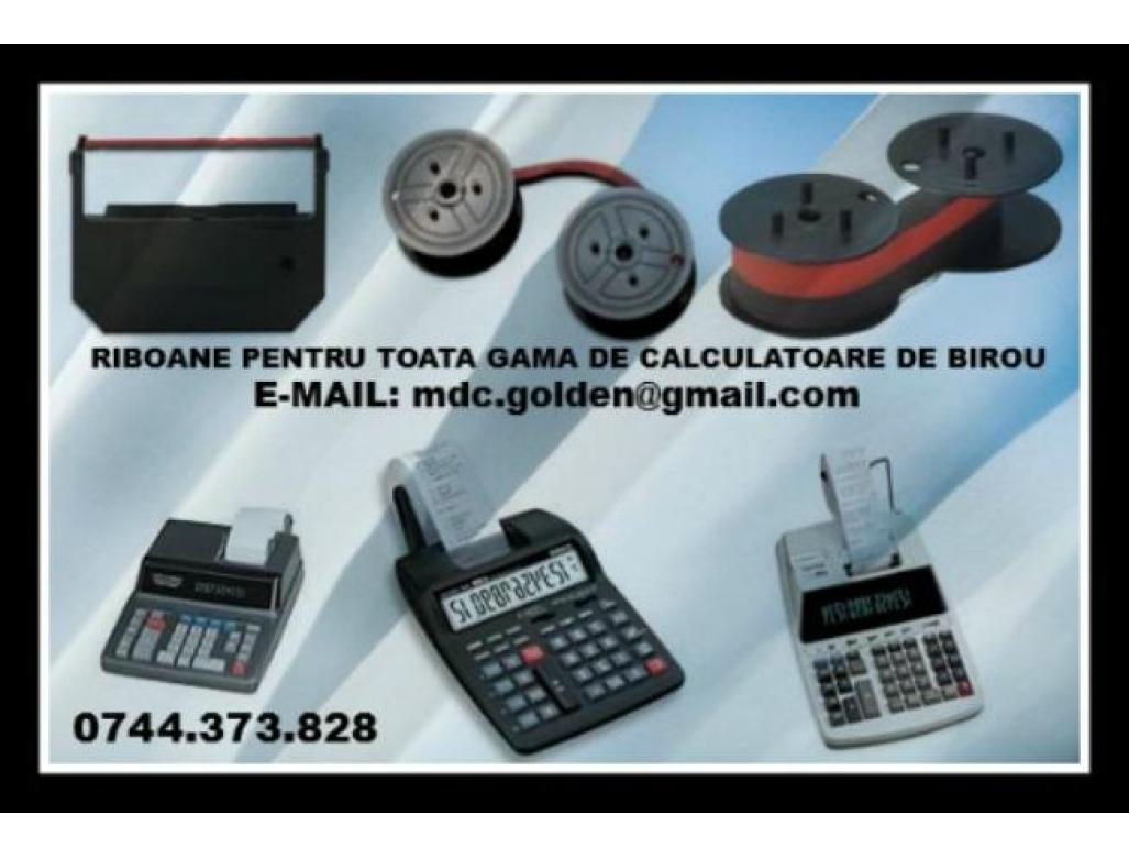 Riboane ptr.calculatoare de birou, masini de calcul