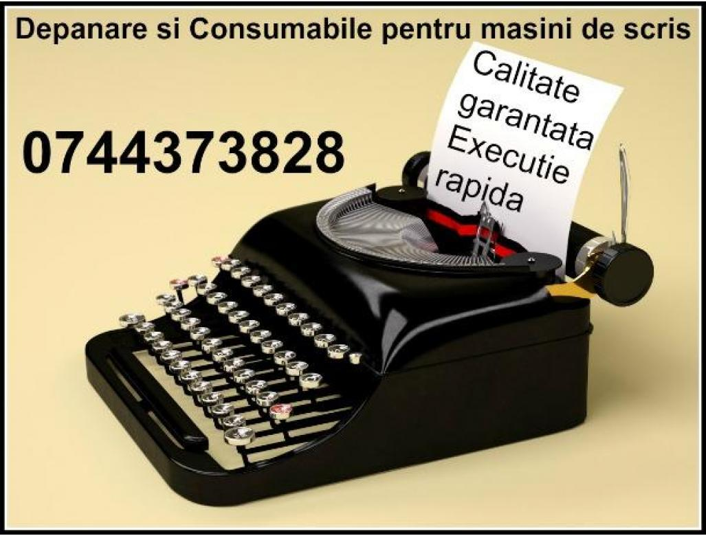 Depanare si Consumabile ptr.masini de scris, preturi minime calitate maxima.