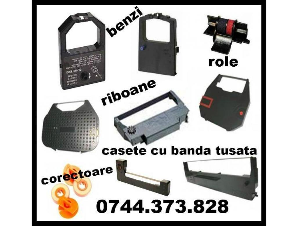 Riboane masini de scris marcile: Brather, Canon, Olivetti,  Panasonic, Sharp, Smith Corona