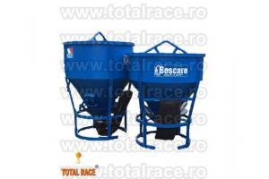 Cupa pentru turnat beton cu furtun de cauciuc special cu diametru 200mm Total Race