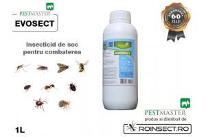 scapa de insecte cu Evosect
