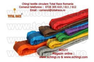 Chingi de ridicare cu urechi din fibra de poliester  Total Race