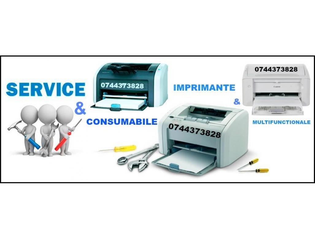 Service si consumabile ptr. imprimante 0744373828, multifunctionale.