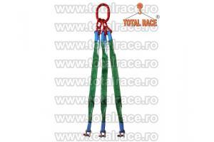 Sistem de ridicare din chingi cu 3 brate