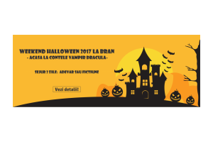 Weekend Halloween Bran - 2017