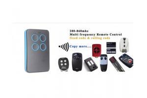 Telecomandă universală pentru control uși garaje, bariere de access 433 MHZ, nouă, sigilată.