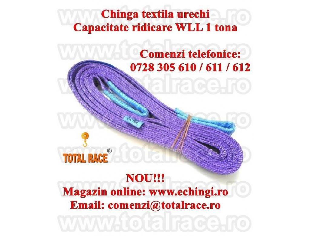 Sufe ridicare textile urechi 1 tona 2 metri
