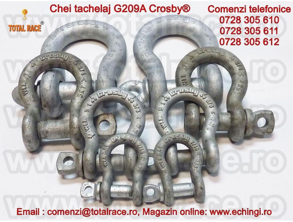 Chei tachelaj pentru uz industrial G209A Crosby®  Total Race