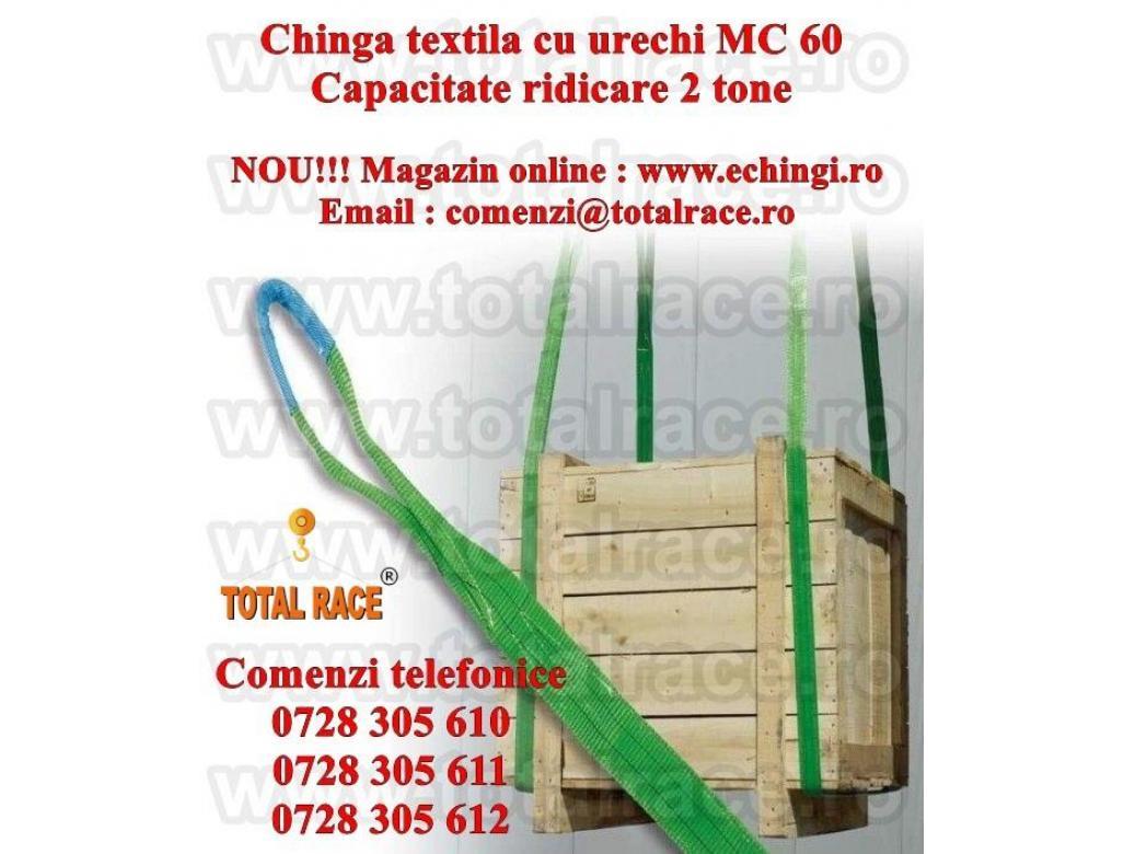 Sufe ridicare textile urechi 2 tone 4 metri
