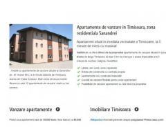 Imobiliare Timisoara, apartamente de vanzare la Sanandrei