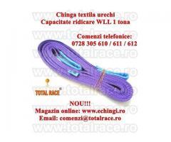 Sufe textile urechi 1tona 4 metri latime 30/50 mm