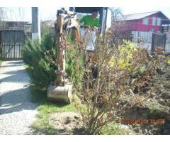 Sofer miniexcavator spatii verzi 1400 euro