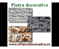 Piatra decorativa artificiala exterior interior