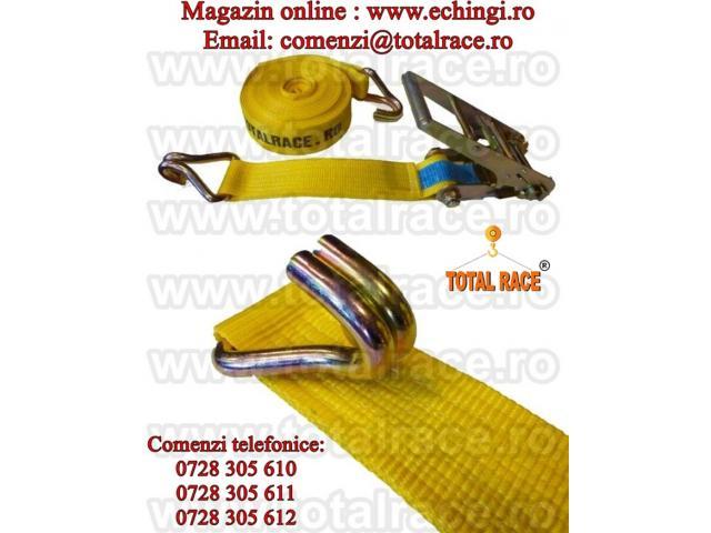Chingi de ancorare/fixare transport marfa 10 tone latime 75 mm 6 metri