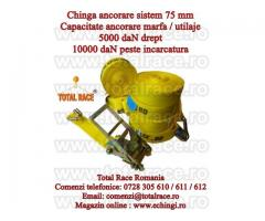 Chingi de asigurare/ancorare transport marfa 10 tone, 10 metri