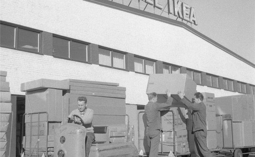Primul magazin Ikea deschis în anul 1958 în Suedia