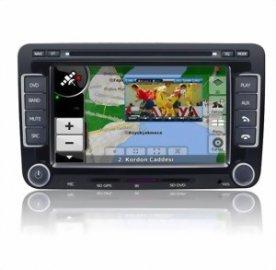 Sistem de navigație tti 7501i cu DVD și TV analogic dedicat pentru Volkswagen, Skoda, Seat, Audi